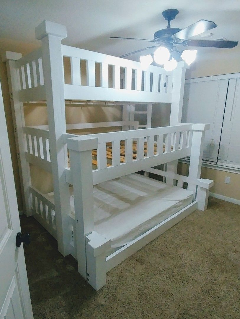 90 top Picks for A Triple Bunk Bed for Kids Rooms-9578