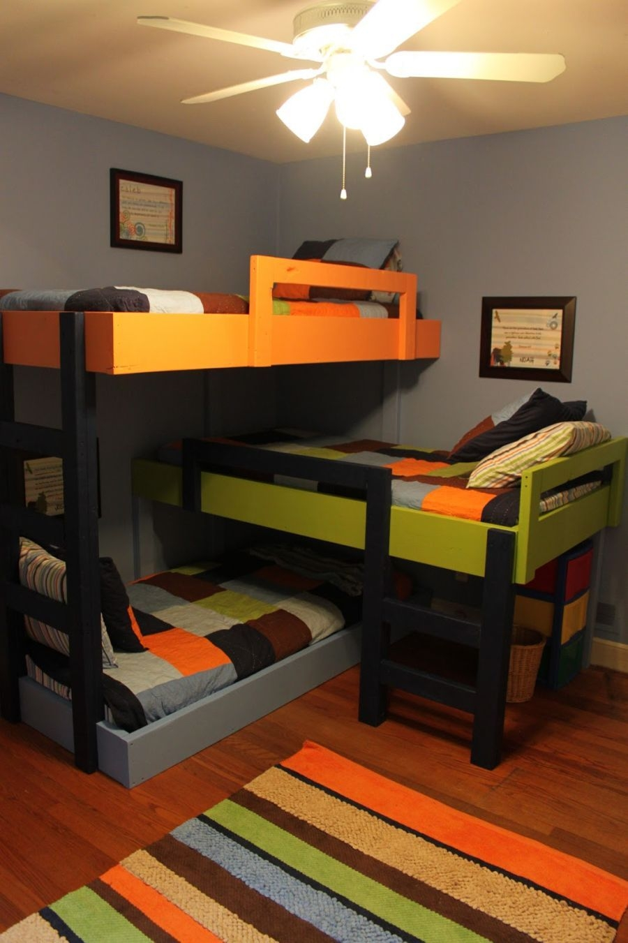 90 top Picks for A Triple Bunk Bed for Kids Rooms-9546