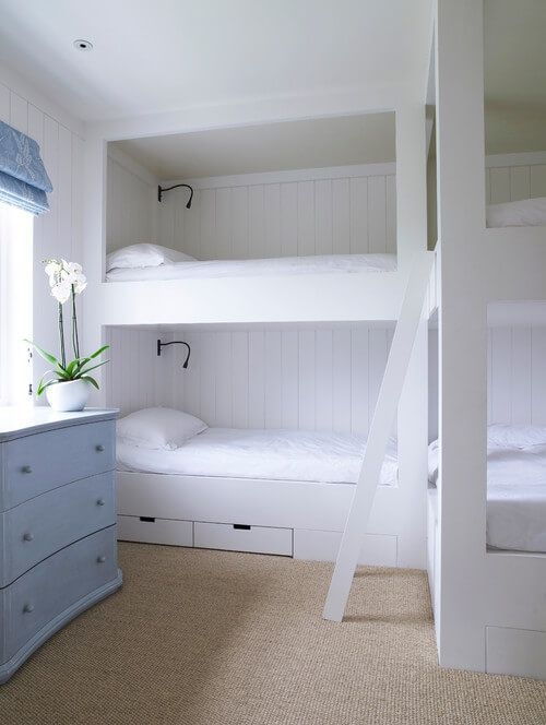 94 Minimalist Bunk Beds Design Ideas - Tips for Designing the Space-10168