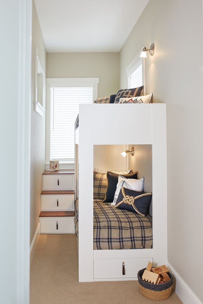 94 Minimalist Bunk Beds Design Ideas - Tips for Designing the Space-10169
