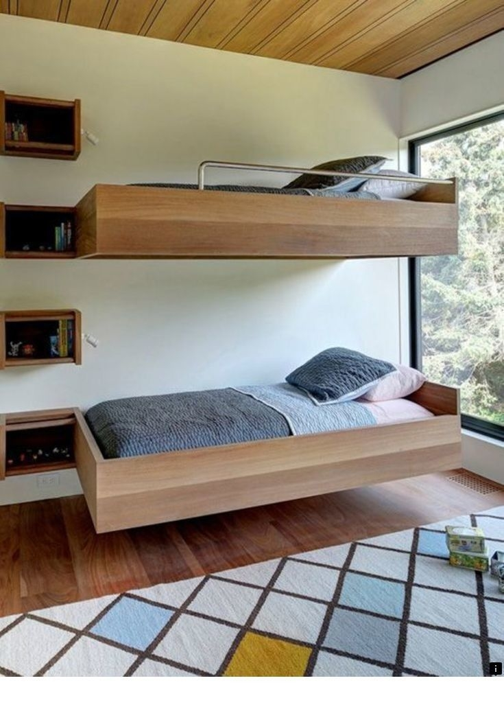 94 Minimalist Bunk Beds Design Ideas - Tips for Designing the Space-10172