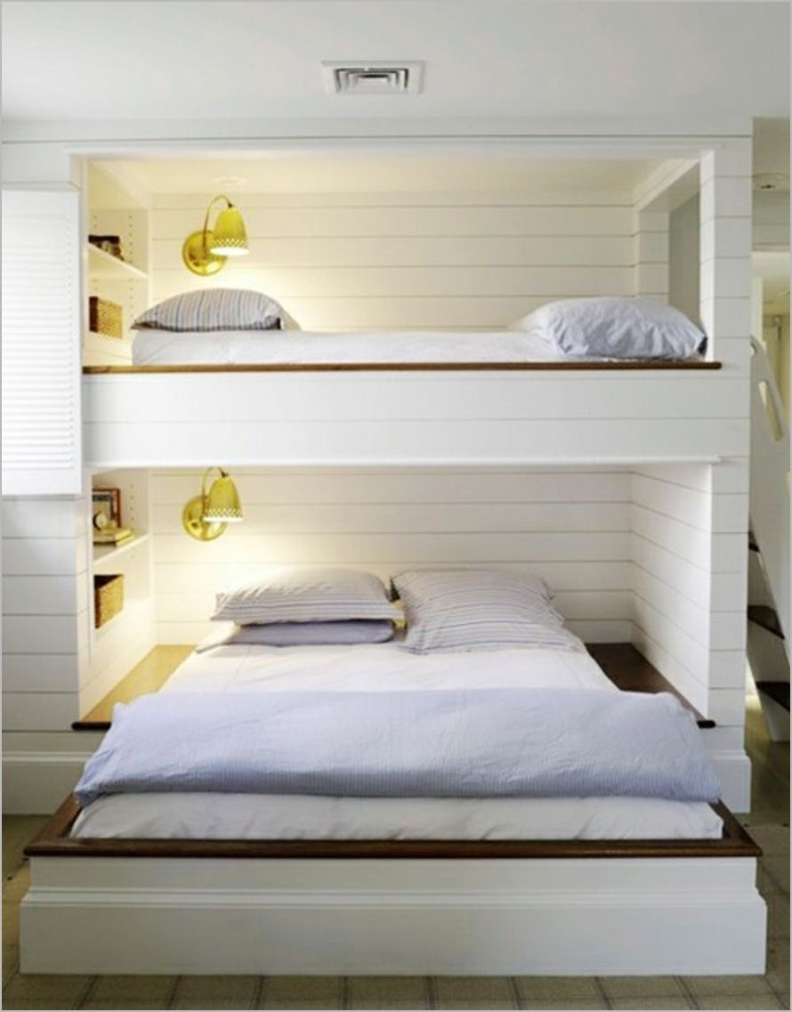 94 Minimalist Bunk Beds Design Ideas - Tips for Designing the Space-10175
