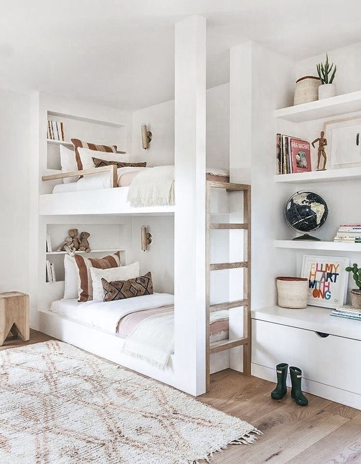 94 Minimalist Bunk Beds Design Ideas - Tips for Designing the Space-10177