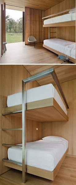 94 Minimalist Bunk Beds Design Ideas - Tips for Designing the Space-10180