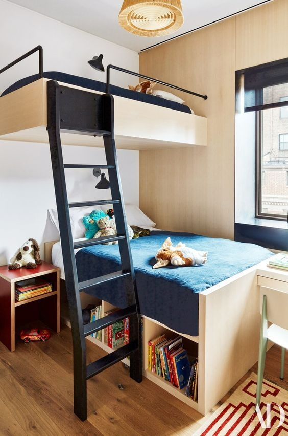94 Minimalist Bunk Beds Design Ideas - Tips for Designing the Space-10183