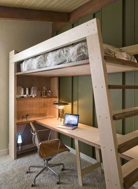 94 Minimalist Bunk Beds Design Ideas - Tips for Designing the Space-10195