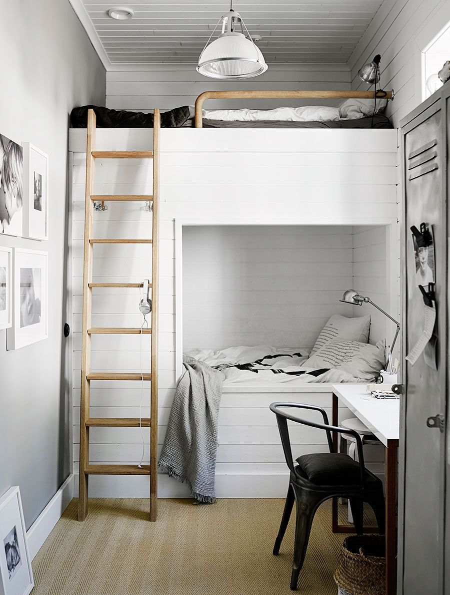 94 Minimalist Bunk Beds Design Ideas - Tips for Designing the Space-10196