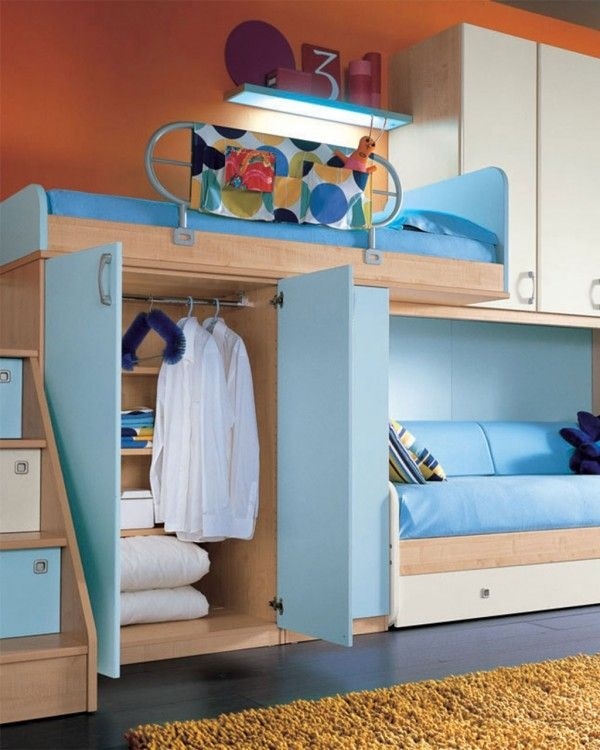 94 Minimalist Bunk Beds Design Ideas - Tips for Designing the Space-10197