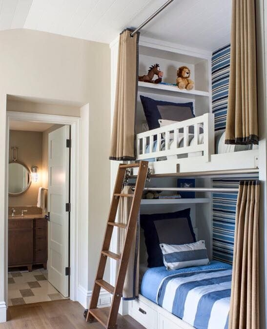 94 Minimalist Bunk Beds Design Ideas - Tips for Designing the Space-10230