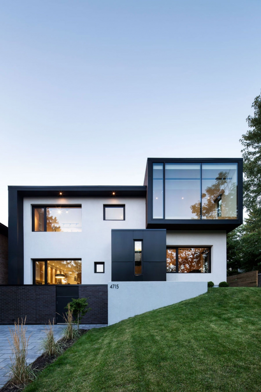 95 Examples Of Amazing Contemporary Flat Roof Design Of A House-9392