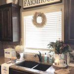 95 Farmhouse Kitchen Ideas On A Budget-8779