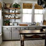 95 Farmhouse Kitchen Ideas On A Budget-8782