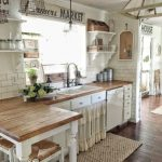 95 Farmhouse Kitchen Ideas On A Budget-8768