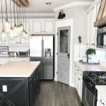 95 Farmhouse Kitchen Ideas On A Budget-8788