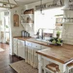 95 Farmhouse Kitchen Ideas On A Budget-8790