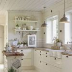 95 Farmhouse Kitchen Ideas On A Budget-8793