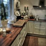 95 Farmhouse Kitchen Ideas On A Budget-8802