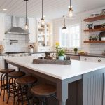 95 Farmhouse Kitchen Ideas On A Budget-8807