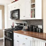 95 Farmhouse Kitchen Ideas On A Budget-8809
