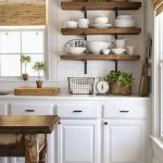 95 Farmhouse Kitchen Ideas On A Budget-8811