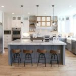 95 Farmhouse Kitchen Ideas On A Budget-8813