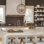 95 Farmhouse Kitchen Ideas On A Budget-8818
