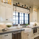 95 Farmhouse Kitchen Ideas On A Budget-8825