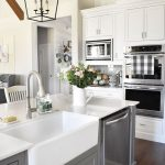 95 Farmhouse Kitchen Ideas On A Budget-8826