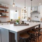 95 Farmhouse Kitchen Ideas On A Budget-8827