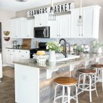 95 Farmhouse Kitchen Ideas On A Budget-8833