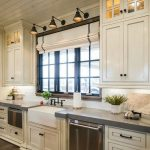 95 Farmhouse Kitchen Ideas On A Budget-8834