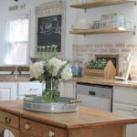 95 Farmhouse Kitchen Ideas On A Budget-8839