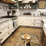95 Farmhouse Kitchen Ideas On A Budget-8845