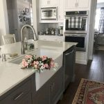 95 Farmhouse Kitchen Ideas On A Budget-8776
