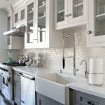 95 Farmhouse Kitchen Ideas On A Budget-8851