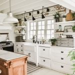 95 Farmhouse Kitchen Ideas On A Budget-8852