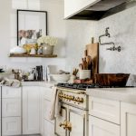 95 Farmhouse Kitchen Ideas On A Budget-8855
