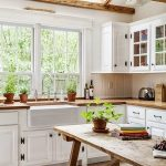 95 Farmhouse Kitchen Ideas On A Budget-8858