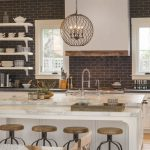 95 Farmhouse Kitchen Ideas On A Budget-8861