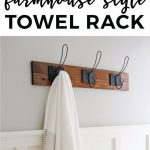96 Models Bathroom Shelf with Industrial Farmhouse towel Bar - Tips for Buying It-9045