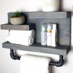 96 Models Bathroom Shelf with Industrial Farmhouse towel Bar - Tips for Buying It-9030