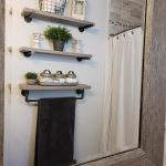 96 Models Bathroom Shelf with Industrial Farmhouse towel Bar - Tips for Buying It-9051