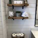 96 Models Bathroom Shelf with Industrial Farmhouse towel Bar - Tips for Buying It-9053