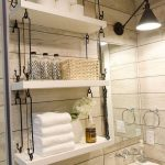96 Models Bathroom Shelf with Industrial Farmhouse towel Bar - Tips for Buying It-9055