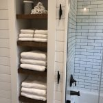 96 Models Bathroom Shelf with Industrial Farmhouse towel Bar - Tips for Buying It-9058