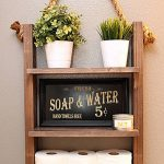 96 Models Bathroom Shelf with Industrial Farmhouse towel Bar - Tips for Buying It-9033
