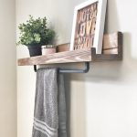 96 Models Bathroom Shelf with Industrial Farmhouse towel Bar - Tips for Buying It-9063