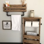 96 Models Bathroom Shelf with Industrial Farmhouse towel Bar - Tips for Buying It-9065
