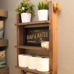 96 Models Bathroom Shelf with Industrial Farmhouse towel Bar - Tips for Buying It-9034