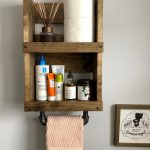 96 Models Bathroom Shelf with Industrial Farmhouse towel Bar - Tips for Buying It-9072